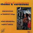 Franz Lehrndorfer: CD Theme & Variations, Volume One