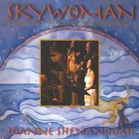 Joanne Shenandoah: CD Skywoman