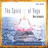Ben Leinbach  The Spirit of Yoga  CD Image
