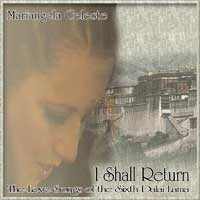 Mariangela Celeste - CD - I Shall Return