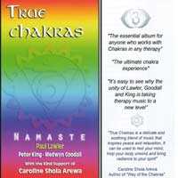 Namaste - Lawler/King/Goodall - CD - True Chakras