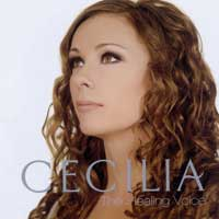 Cecilia  CD The Healing Voice