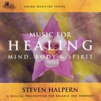 Steven Halpern: CD Music for Healing