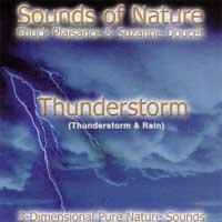 Suzzane Doucet & Chuck Plaisance - CD - Sounds of Nature - Thunderstorm (& Rain)