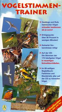 CD mit Begleitbuch: CD Vogelstimmen-Trainer