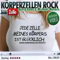 Mosaro & Astrid Kuby: CD Körperzellen Rock