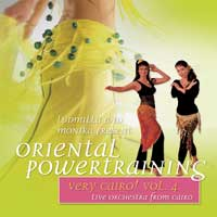 Live Orchestra from Cairo: CD Very Cairo! Vol. 4 - Oriental Powertraining