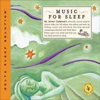 Jeffrey Thompson Dr.: CD Music for Sleep (4CDs)