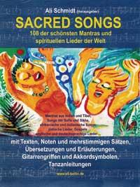 Ali Schmidt - CD - Sacred Songs (Buch)