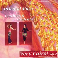 Live Orchestra from Cairo: CD Very Cairo! Vol. 2 - Oriental Music for Teachers &