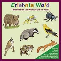 Tierstimmen und Geräusche des Waldlebens - CD - Erlebnis Wald