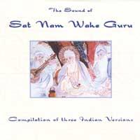 Sampler (YogiPress): CD Sat Nam Wahe Guru - Three Indian Versions