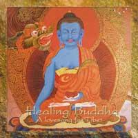 Christian Bollmann: CD Healing Buddha - A Lovesong for Tibet