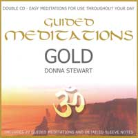 Donna Stewart: CD Guided Meditations Gold   2CDs  (engl.)