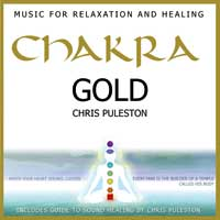 Aetherium & Chris Puleston - CD - Chakra Gold - Music for Relaxation and Healing