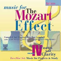 Don Campbell: CD Mozart Effect, Vol. 4 - Focus and Clarity (2CDs)
