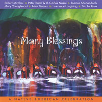 Sampler (Silver Wave) - CD - Many Blessings - A Native American Celebration