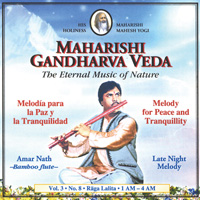 Amar Nath - Melodie für Frieden und Stille: CD Late Night Melody (1-4 Uhr) Vol. 3/8