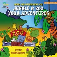 Helen Purperhart - CD - Jungle & Zoo Yoga Adventures