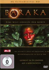 Ron Fricke & Michael Stearns  Baraka  CD Image