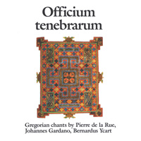 Gregorianische Gesänge: CD Officium Tenebrarum