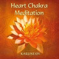 Karunesh  Heart Chakra Meditation  CD Image