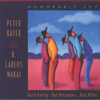 Peter Kater & Carlos Nakai - CD - Honorable Sky