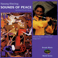 Nawang Khechog: CD Sounds of Peace