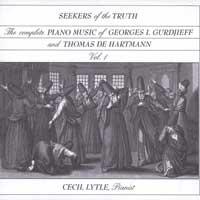 C. Lytle & Gurdjieff & Hartmann - CD - Seekers of the Truth