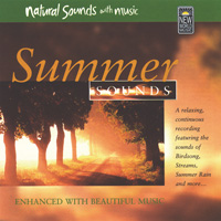 Natural Sounds with Music - CD - Summer Sounds
