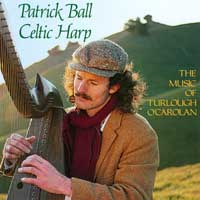 Patrick Ball - CD - Music of Turlough O`Carolan Vol 1