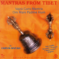 Sacred Music Oreade Series: CD Mantras from Tibet