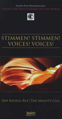 Joachim-Ernst Berendt: CD Stimmen! Stimmen! (3 CDs)