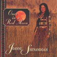 Joanne Shenandoah: CD Once in a Red Moon