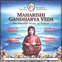 Shiv Kumar Sharma  Midnight Melody Vol. 17/7 Entspannung u. Ruhe  CD Image