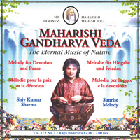 Shiv Kumar Sharma: CD Sunrise Melody Vol.17/1 Hingabe u. Frieden