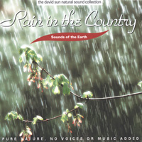 Sounds of the Earth - David Sun - CD - Rain in the Country