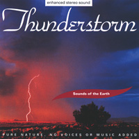 Sounds of the Earth - David Sun: CD Thunderstorm