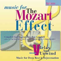Don Campbell: CD Mozart Effect, Vol. 5: Relax and Unwind