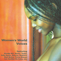 Sampler: Blue Flame - CD - Women's World Voices Vol. 1