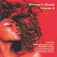 Sampler: Blue Flame - CD - Women's World Voices Vol. 3