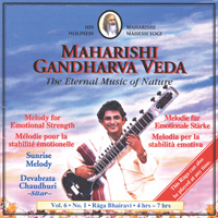 Devabrata Chaudhuri: CD Sunrise Melody Vol. 6/1 Emotionale Stärke