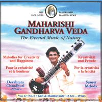 Devabrata Chaudhuri - CD - Sunset Melody Vol. 6/5 Freude u. Kreativität