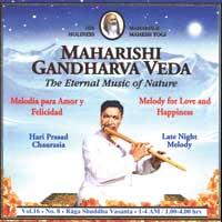 Hari Chaurasia Prasad: CD Late Night Melody Vol.16/8  für Liebe und Glück