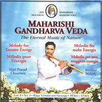 Hari Chaurasia Prasad - CD - Midday Melody Vol. 9/3 - Mehr Energie
