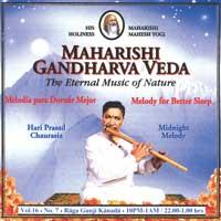 Hari Chaurasia Prasad: CD Midnight Melody Vol.16/7 für besseren Schlaf
