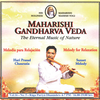 Hari Chaurasia Prasad: CD Sunset Melody Vol.16/5 zur Entspannung
