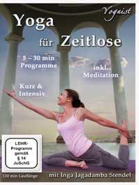 Inga Stendel: DVD Yoga f�r Zeitlose