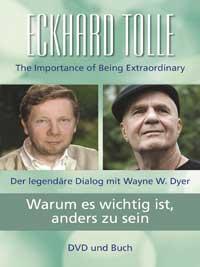Eckhart Tolle: DVD Warum es wichtig ist anders zu sein (DVD   Buch)