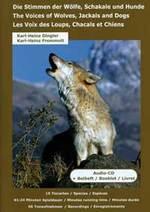 Karl Dingler Heinz u.a.  Die Stimmen der Wölfe, Schakale und Hunde  CD Image